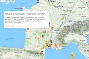 carte du réseau Grand Site