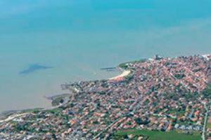 vue aérienne côtes